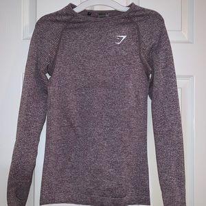 Seamless Gymshark Long Sleeve Shirt